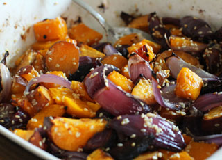 Butternut Squash & Sweet Potato Recipe
