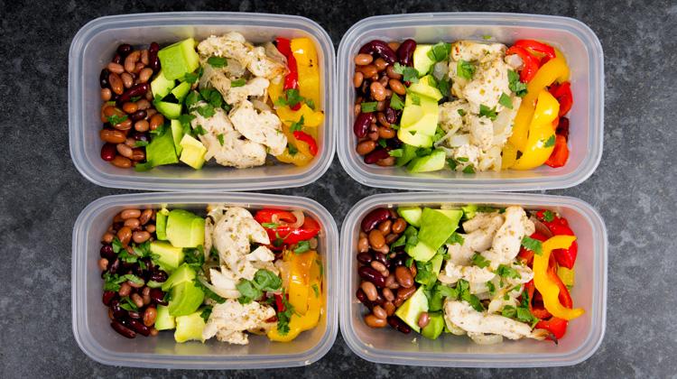Chicken Fajita Meal Prep Recipe Warren Nash Tv