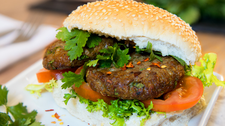 Curry Beef Burgers Recipe