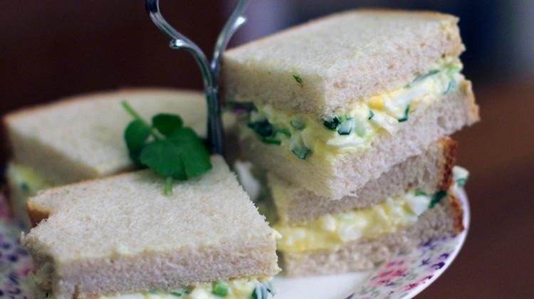 Egg Mayonnaise Sandwich Recipe Warren Nash Tv