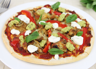 Fajita Pizza Recipe