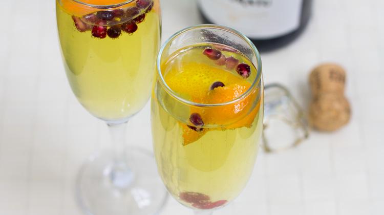 Prosecco and Gin Cocktail Recipe