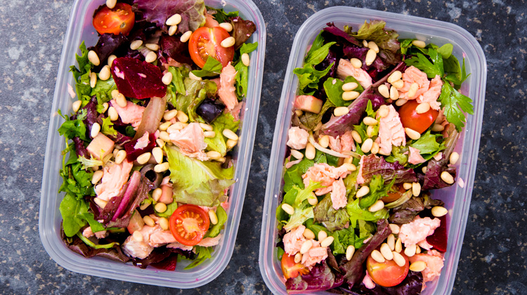 Salmon Salad Meal Prep Recipe