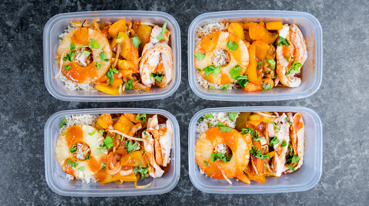 Sweet and Sour Chicken Meal Prep Recipe