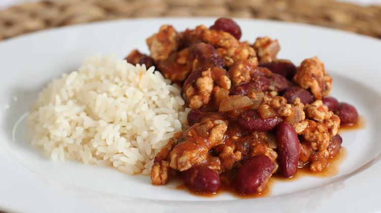 Turkey Chilli Con Carne Recipe   Warren Nash TV