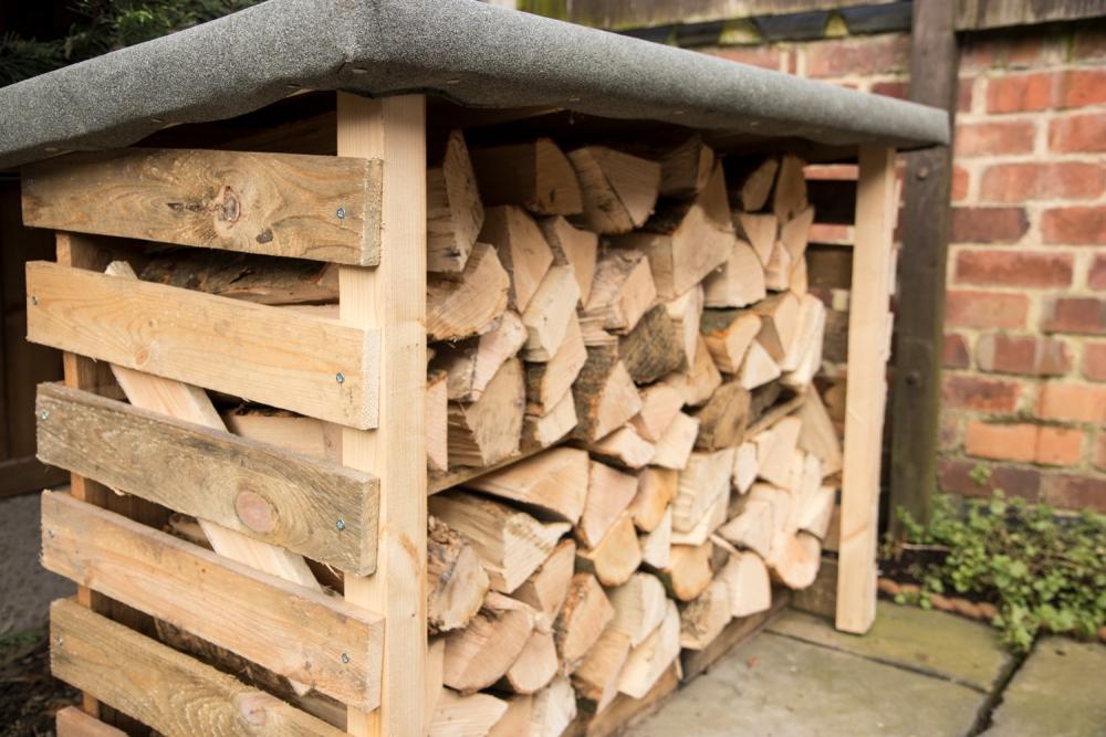 How To Make A Pallet Log Store Warren Nash Tv